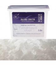 Декоративная краска Ircom Decor Китайский шелк серебряный 0.8 л