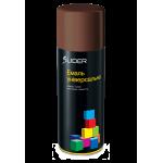 Аэрозольная эмаль универсальная Lider RAL 8011 коричневый глянец 400 мл