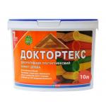 Лазурь-лак антисептический Доктортекс IPKOM IP-013 безцветный 10 л
