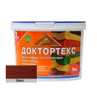 Лазурь-лак антисептический Доктортекс IPKOM IP-013 орех