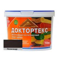 Лазурь-лак антисептический Доктортекс IPKOM IP-013 полисандр
