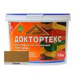 Лазурь-лак антисептический Доктортекс IPKOM IP-013 сосна 10 л