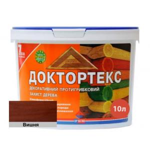 Лазурь-лак антисептический Доктортекс IPKOM IP-013 вишня
