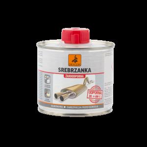 Эмаль термостойкая серебрянка Srebrzanka Dragon серебряный металлик