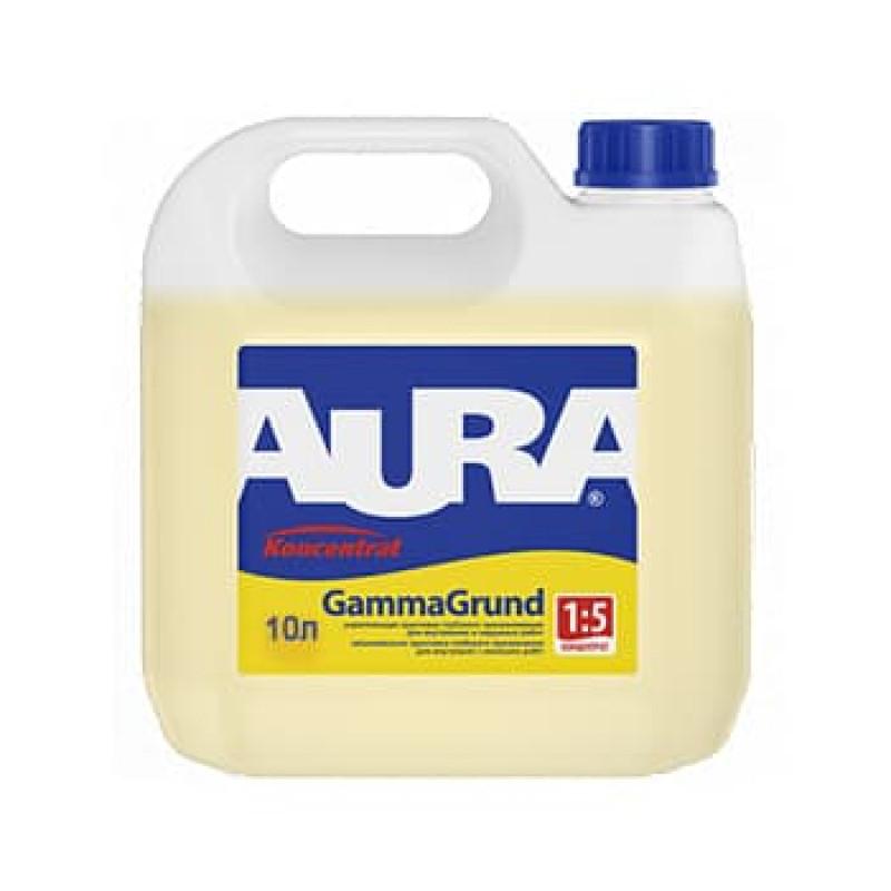 Грунтовка акриловая концентрат AURA GammaGrund 10 л