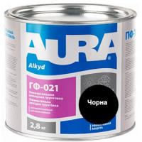 Грунтовка антикорозионная алкидная AURA ГФ-021 черная