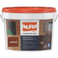 Лазурь для деревянных фасадов Aura ColorWood Aqua (кипарис)