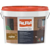 Лазурь для деревянных фасадов Aura ColorWood Aqua (орех)