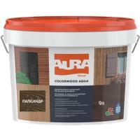 Лазурь для деревянных фасадов Aura ColorWood Aqua (полисандр)