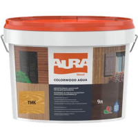 Лазурь для деревянных фасадов Aura ColorWood Aqua (тик)