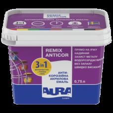 Эмаль по ржавчине 3 в 1 AURA Luxpro Remix Anticor