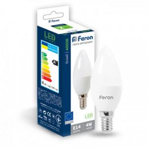 Светодиодная лампа Feron LB-720 4W E14 4000K