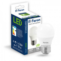 Светодиодная лампа Feron LB-745 6W E27 4000K