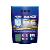 Затирка для плитки Fuga Color Polimin 2 кг оливковая