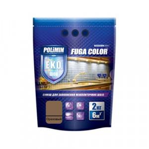 Затирка для плитки Fuga Color Polimin 2 кг орех
