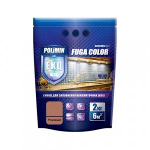 Затирка для плитки Fuga Color Polimin 2 кг розовый