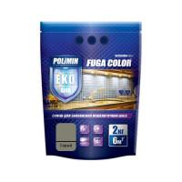 Затирка для плитки Fuga Color Polimin 2 кг серая