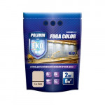 Затирка для плитки Fuga Color Polimin 2 кг светлый беж