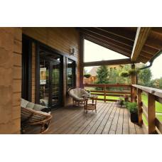 Покраска деревянной террасы маслом для террас Aura Terrace