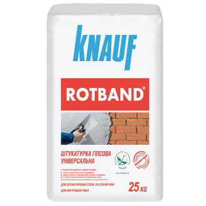 Гипсовая штукатурка Knauf Rotband 25кг