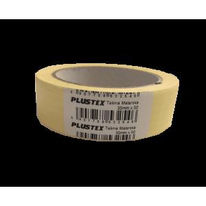 Малярная лента Plustex 30mm x 50m