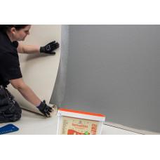 Как наклеить стекловолокнистые обои на стены