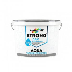 Лак для камня термостойкий Kompozit Strong Aqua 0,75 л