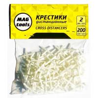 Крестики дистанционные Magtools 2 мм 200 шт./уп (58111)