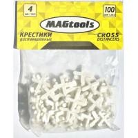 Крестики дистанционные Magtools 4 мм 100 шт./уп (58114)