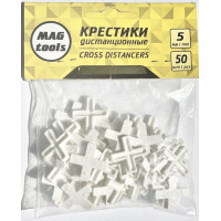 Крестики дистанционные Magtools 5 мм 50 шт./уп (58115)