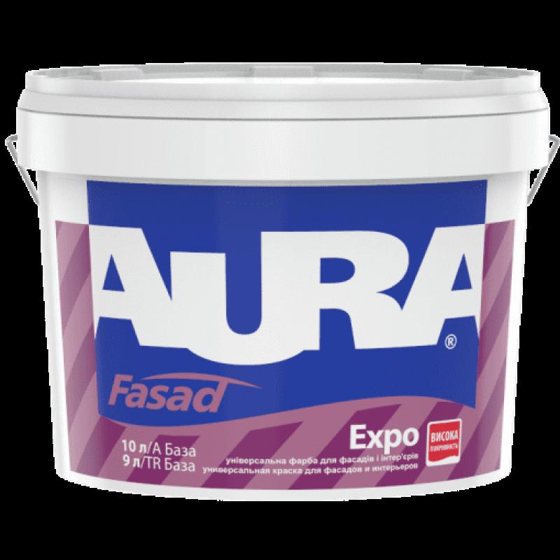 Фасадная краска AURA Fasad Expo 10 л TR 9 л