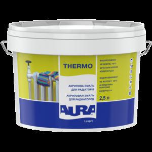 Акриловая эмаль для радиаторов AURA Luxpro Thermo