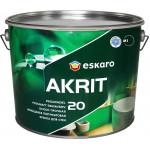 Краска Eskaro Akrit 20 полуматовая 9.5 л