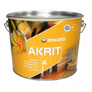 Краска Eskaro Akrit 4 глубокоматовая