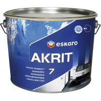 Краска Eskaro Akrit 7 шелковисто-матовая
