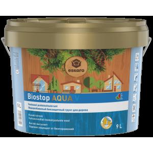 Пропитка (антисептик) Aura Biostop Aqua V бесцветный
