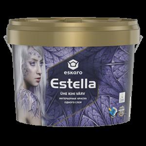 Краска акриловая Eskaro Estella матовая