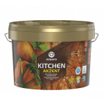 Краска акриловая Eskaro Akzent Kitchen шелковистый мат белый 2.7 л TR 2.7 л