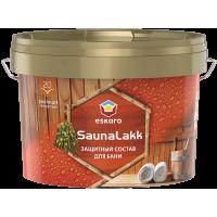 Лак для бани Eskaro Saunalakk полуматовый