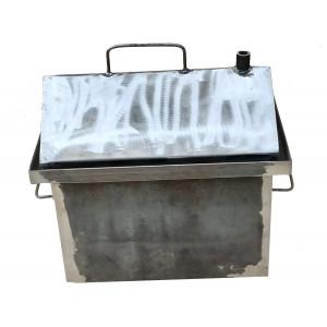 Коптильня горячего копчения 2 мм 430х360х300 мм не окрашенная