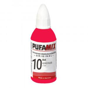 PUFAMIX универсальный концентрат для тонирования 20 мл №10 красный