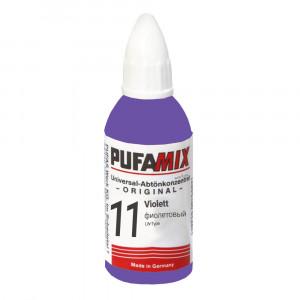PUFAMIX универсальный концентрат для тонирования 20 мл №11 фиолетовый