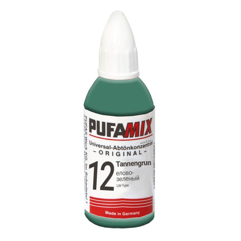 PUFAMIX универсальный концентрат для тонирования 20 мл №12 елово-зелёный