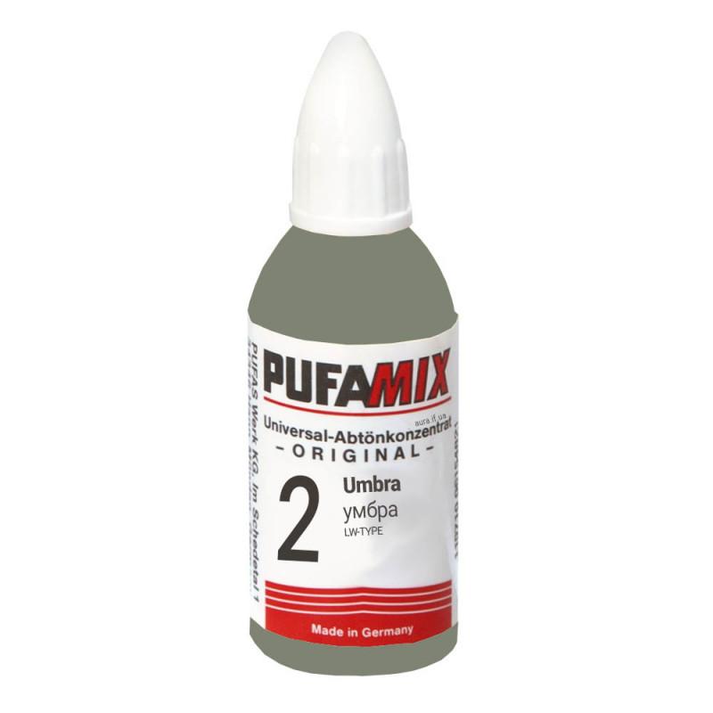 PUFAMIX универсальный концентрат для тонирования 20 мл №2 умбра