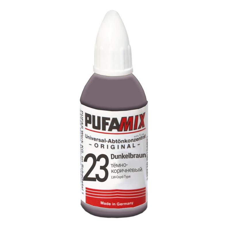 PUFAMIX универсальный концентрат для тонирования 20 мл №23 тёмно-коричневый