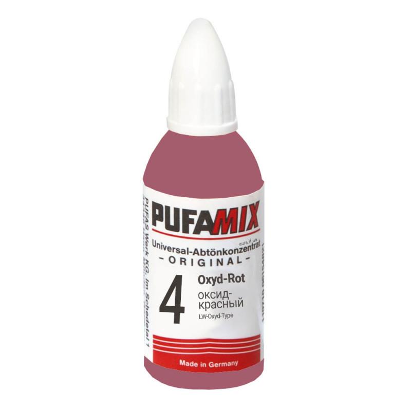 PUFAMIX универсальный концентрат для тонирования 20 мл №4 оксид-красный