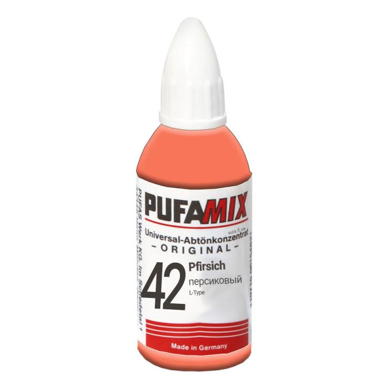 PUFAMIX универсальный концентрат для тонирования 20 мл №42 персиковый