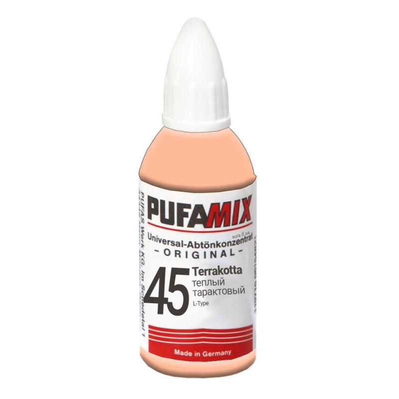 PUFAMIX универсальный концентрат для тонирования 20 мл №45 тёплый террактовый