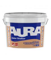 Краска структурная AURA Dekor Struktur белая