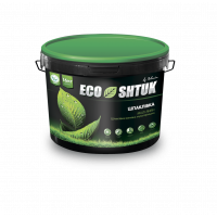 Шпаклевка Polimin EcoShtuk Fat Lime Putty мультифиниш 16 кг
